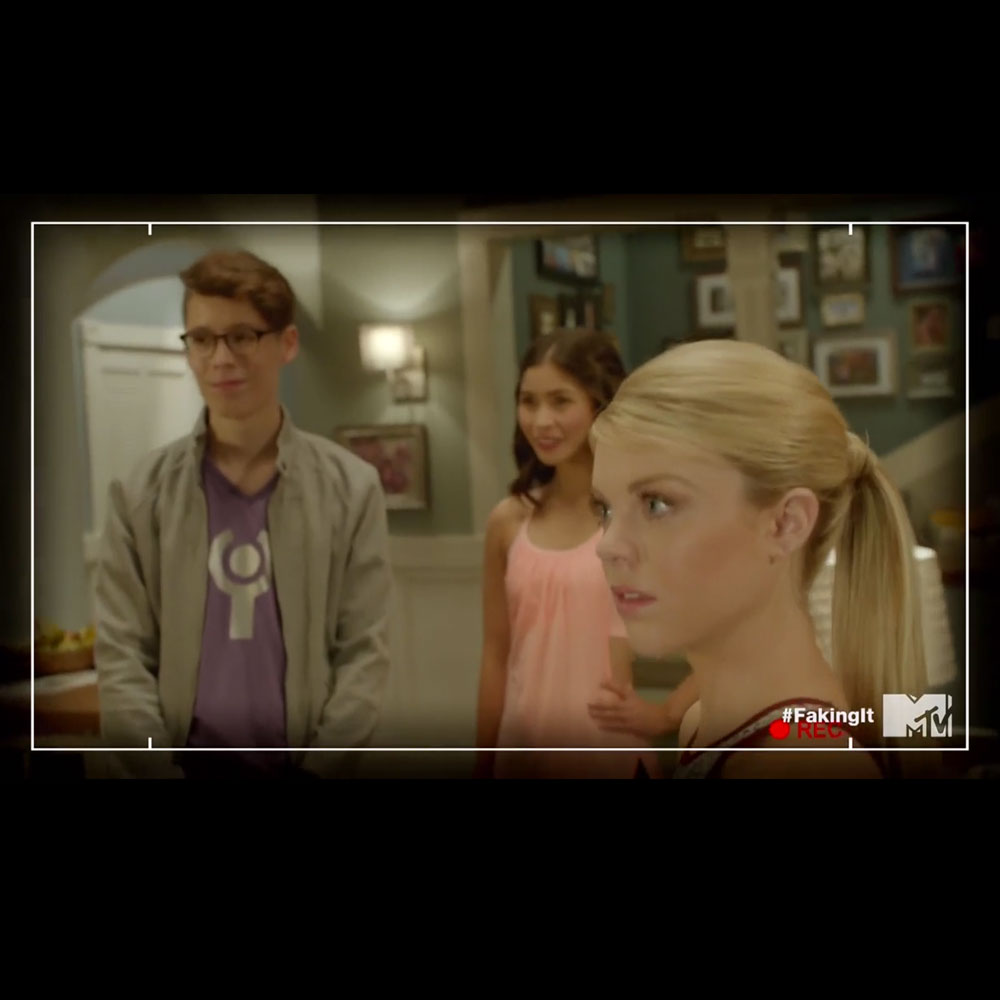 interACT member Amanda Saenz on MTV's Faking It