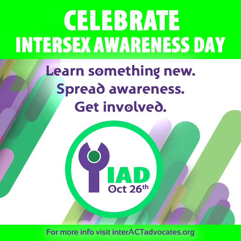 Celebrate Intersex Awareness Day